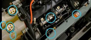 adesivos motor